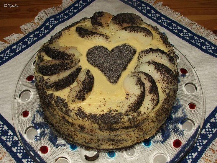 MINDEN, AMI MAGYAR - Szabolcsi almás máktorta - a 2012-es év Ország tortája a magam módján