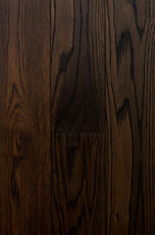 """Black Fumed - I oak flooring produced from European oak. I shares similar characteristics with """"Ebony Fumed"""" which makes it a great product for high traffic area."""