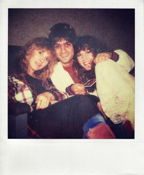 Stevie Nicks with Jimmy Iovine and Lori Nicks