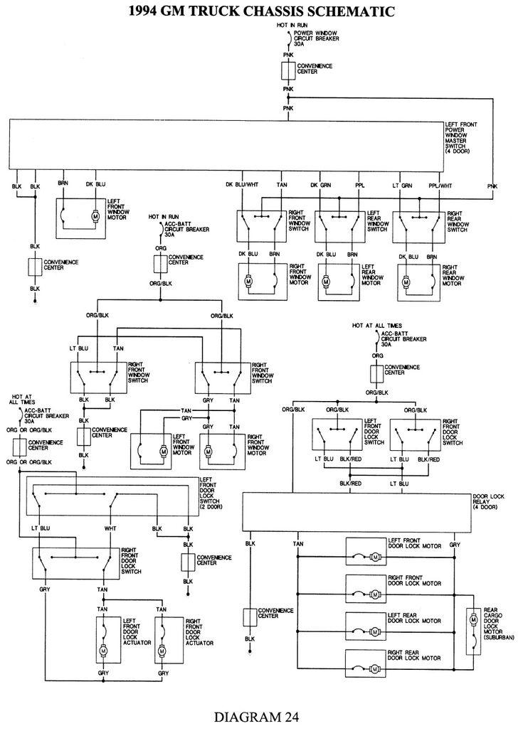 gm truck wiring diagram pdf