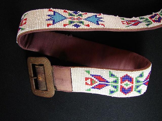 american indian beaded belt by 120maron, via Flickr