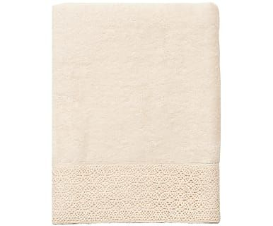 Банное полотенце - хлопок - бежевый, 70 x 140 см