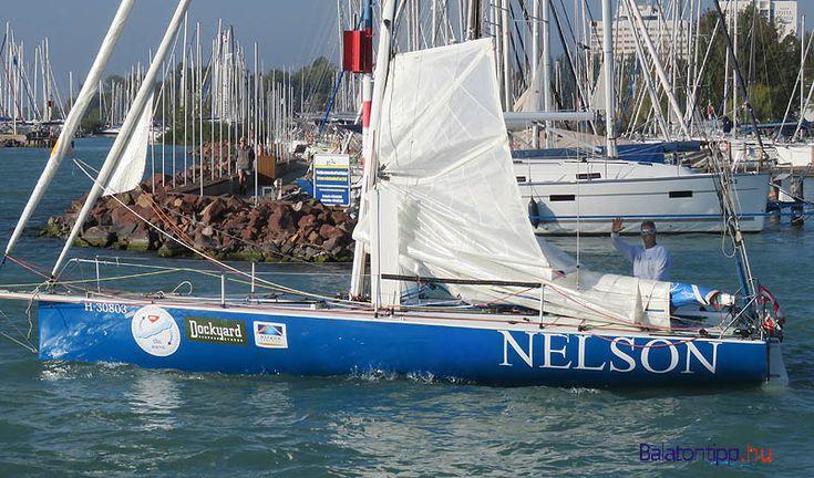 Fa Nándor a rajtra indul a versenyen Kulcs-Soft néven induló hajóval