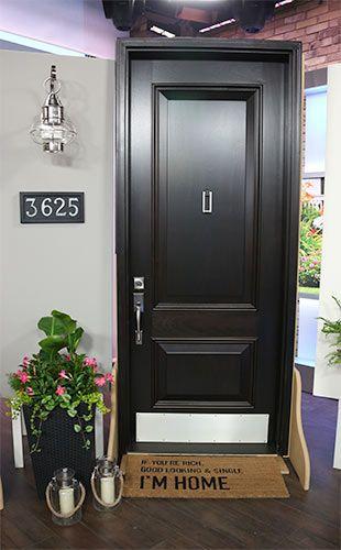 Semi Modern Statement Front Door
