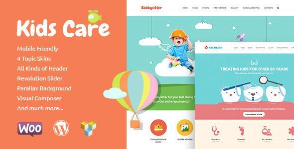 Kids Care | Multi-Purpose Children WordPress Theme - Education WordPress