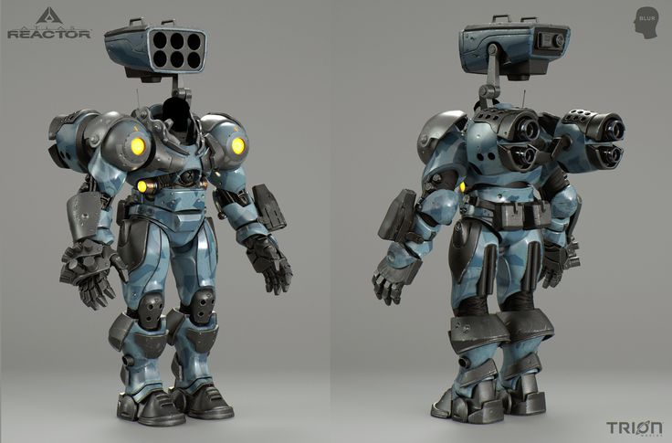 ArtStation - Blur Studio / Atlas Reactor - Game Trailer (Garrison Armor), David Munoz Velazquez