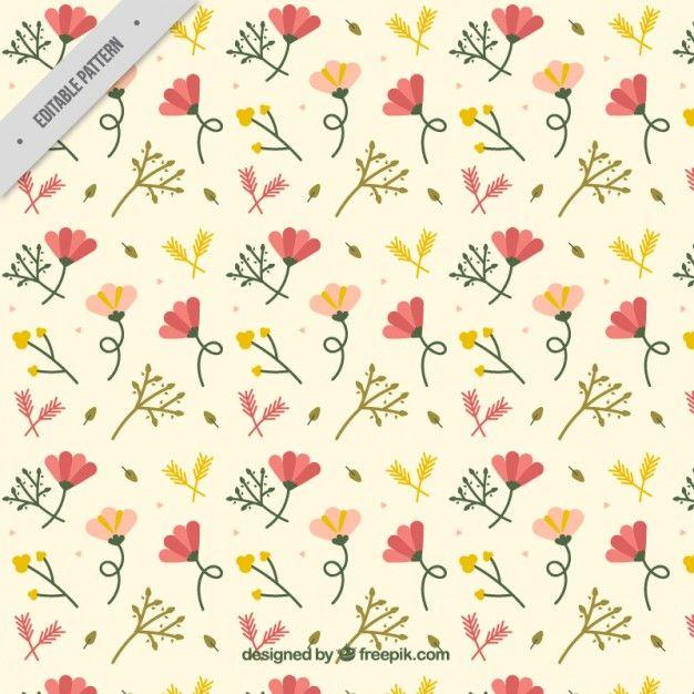무료 일러스트: 백그라운드-구식패션-꽃-패턴-꽃패턴-꽃-vector - 온 세상 모든 무료이미지 큐레이션 - 프리큐레이션