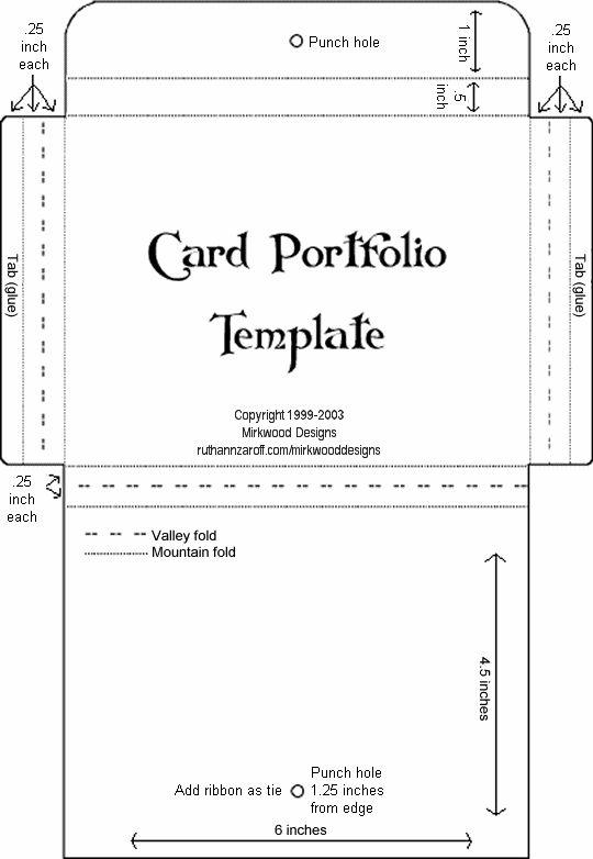 pocket reference cards templates - Selol-ink - pocket template