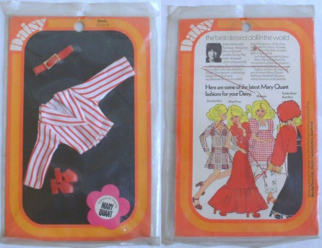 1970s Daisy Doll Bertie Fashion Clothes Mary Quant | eBay