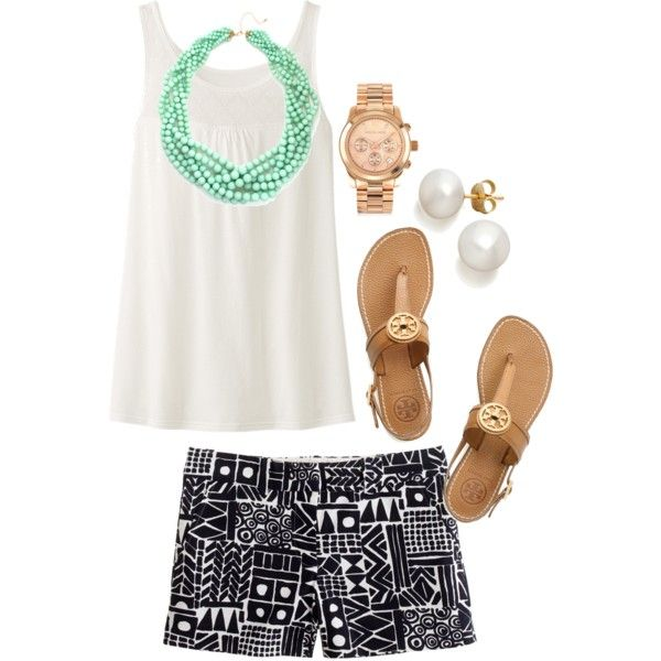 """Turquoise"" by the-southern-prep on Polyvore"