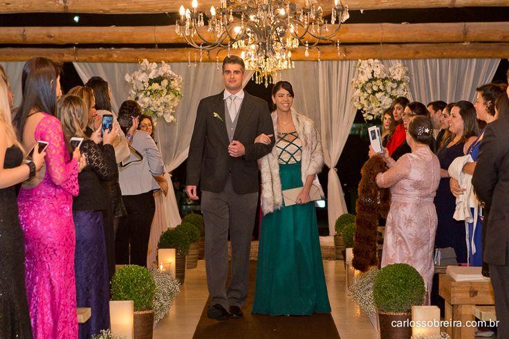 Vestido Sob Medida Carolina Barbosa, para irmã da noiva.