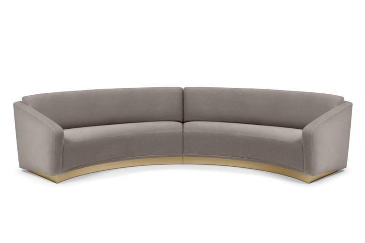 Round sofa FERDINAND - Munna