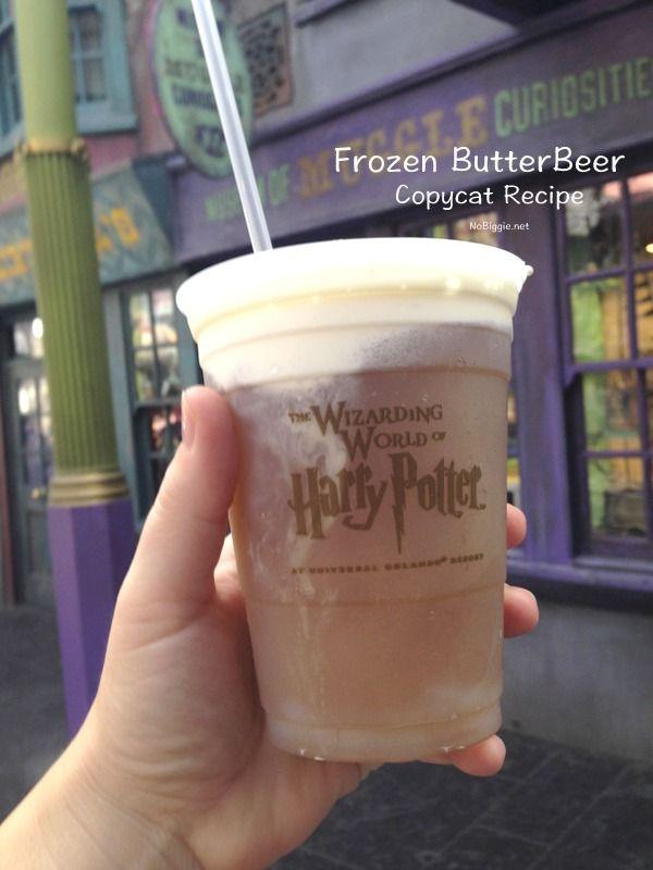 Frozen Butter Beer (copycat recipe) | NoBiggie.net