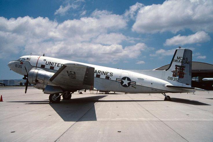 """""""Douglas R4D-8 conversion, BuNo 50835 @ old MCAS El Toro museum, 1995-06-17. Currently at Miramar."""""""