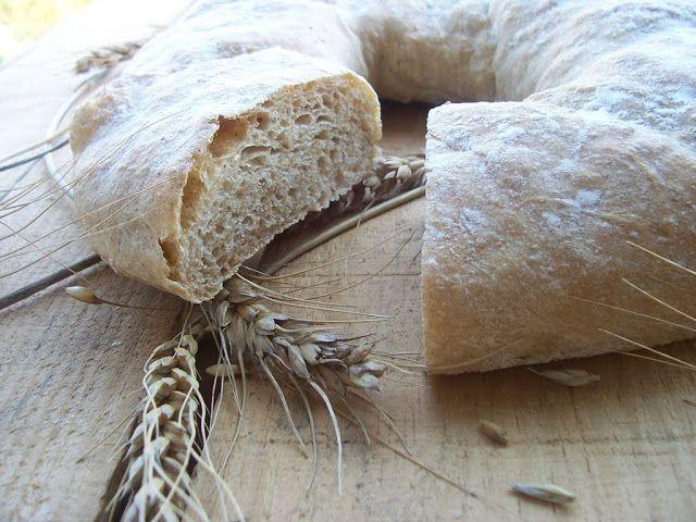 Una pincelada en la cocina: bolla de pan de la aldea