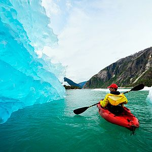 I wil be visiting the glaciers in Junea on our cruise. I am hoping to be brave enough to do this canoe trip...Beginner's guide to Alaska | Take a journey to planet ice | Sunset.com