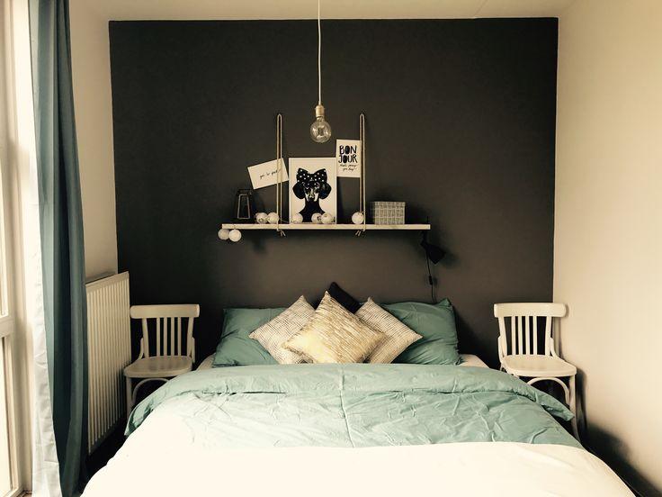 DIY bedroom.
