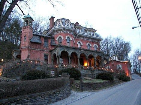 Washington pa haunted houses