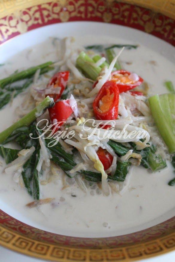 Azie Kitchen: Sayur Putih Taugeh dan Sawi