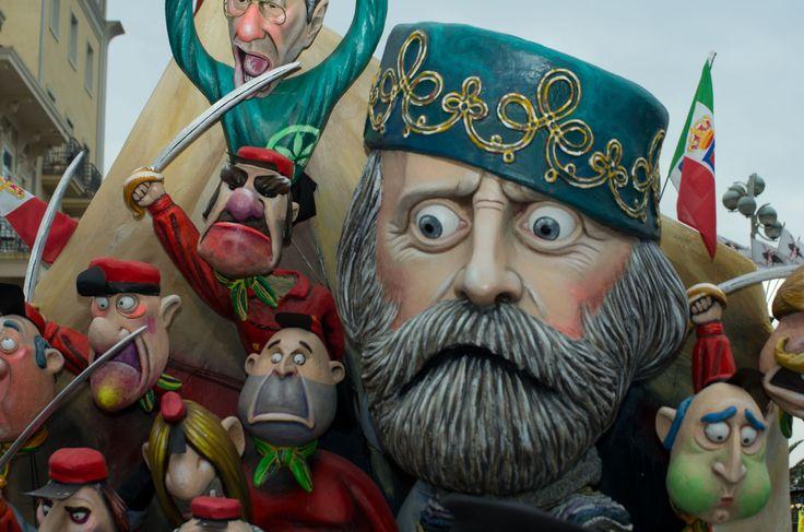 Carnival of Viareggio | Viareggio Carnival (Carnevale di Viareggio) – Viareggio, Italy