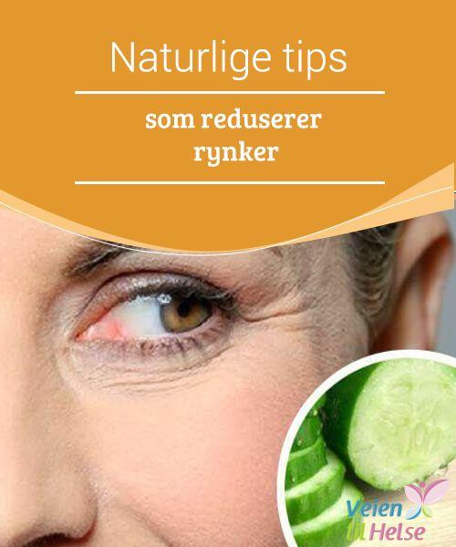 Naturlige tips som reduserer rynker  Visste du at agurk, i #tillegg til å friske opp trette øyne, også kan brukes til å #redusere rynker, #kråkeføtter og mørke #ringer?