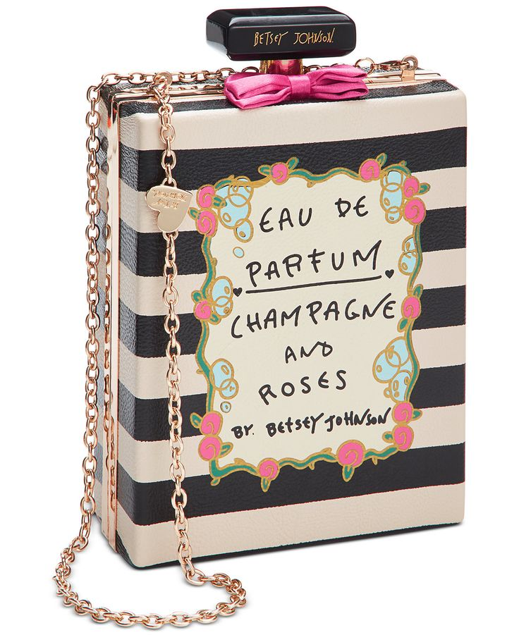 Betsey Johnson Perfume Shoulder Bag - Handbags & Accessories - Macy's