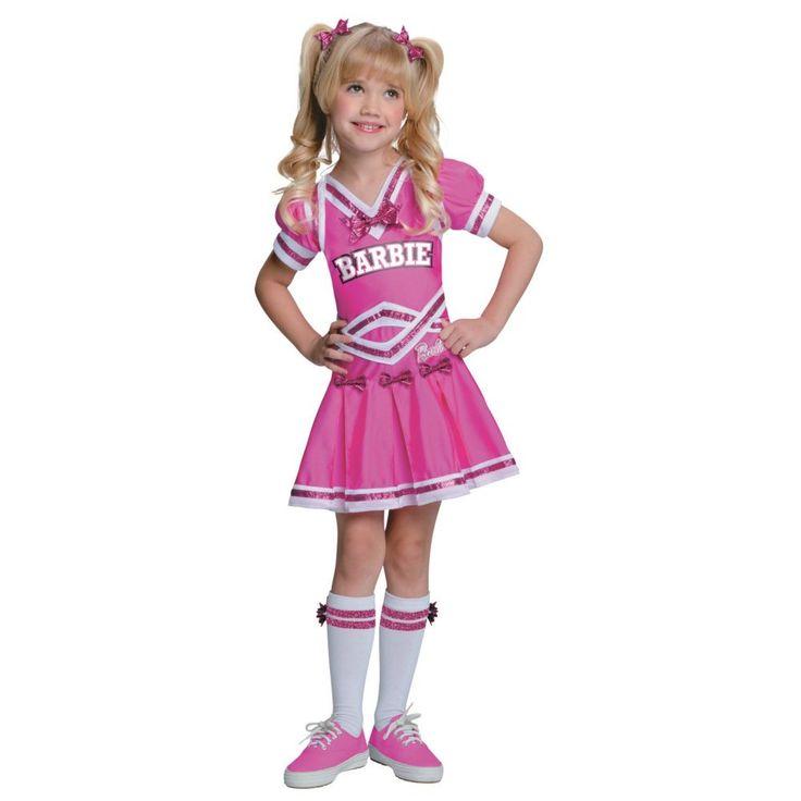 Barbie Cheerleader Girls Halloween Costume - Medium