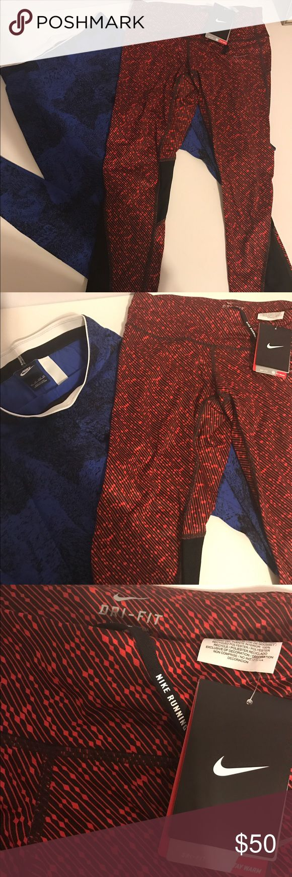 NIKE running pants. Nike running pants x 2!!! New with tag. Excellent condition. Nike Pants Track Pants & Joggers