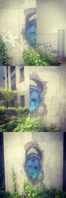 Street Art by Maldito Juanito. Que bonito!!!!!!