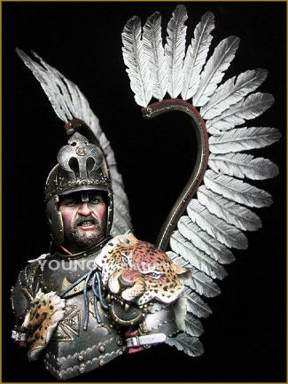 Polish Winged Hussar. Grrrr!
