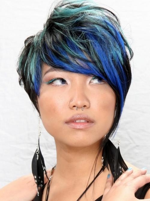 Short blue hair #hair #hairstyle #color #blue www