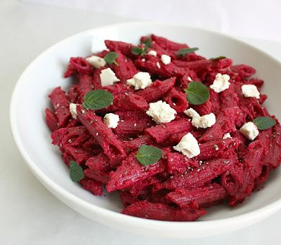 penne with roasted beet sauce: Beets Recipes, Sauce Recipes, Pasta Dishes, Roasted Beets, Apples, Beets Sauces, Sauces Recipes, Goats Cheese, Meatless Mondays Penn
