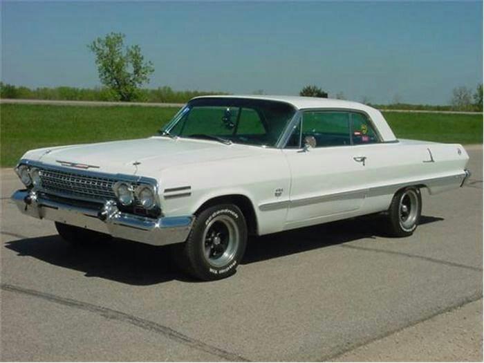 1963 Chevy Impala Cars Enough Said Pinterest