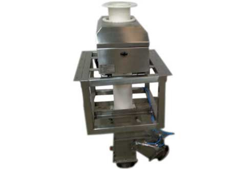 Gravity Feed Metal Detector for Pharmaceutical Powder / Granules. Contact : Arun Arondekar + 91 98231 91950 / + 91 98221 64324.