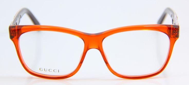 Occhiali da vista donna Gucci GG3543 5FG e Gucci GG3555 KV2: linee semplici dai colori accattivanti