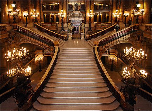 Stairway, Opera House, Paris.  Referenced by WHW1.com: Website Hosting - Affordable, Reliable, Fast, Easy, Advanced, and Complete.©