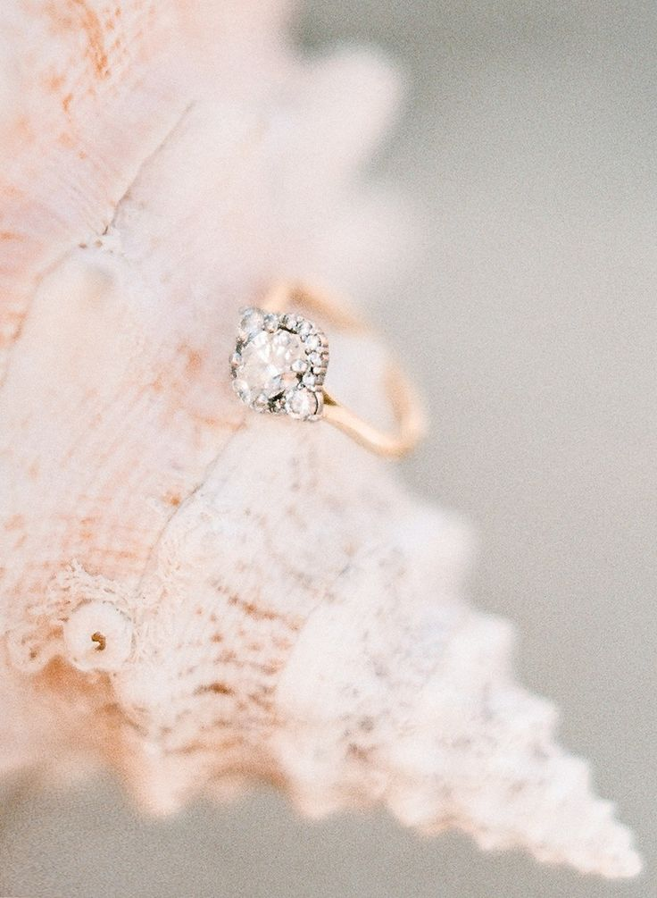 View entire slideshow: Gold Engagement Rings on http://www.stylemepretty.com/collection/2421/