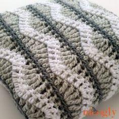 Cobertor do bebê de Greyson - livre #Crochet padrão na