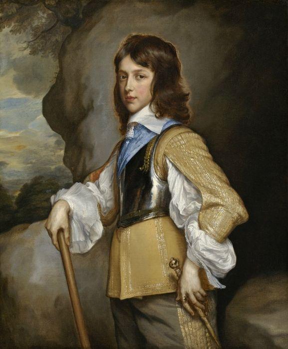 Adriaen Hanneman Портрет Генри Стюарта герцога Глостер. 1653. Вашингтон. Национальная галерея искусств.
