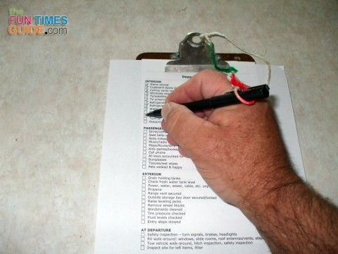 The Ultimate RV Camping Checklist: Don't Forget To Do These Things Before You Leave Camp! | The Fun Times Guide to RVing