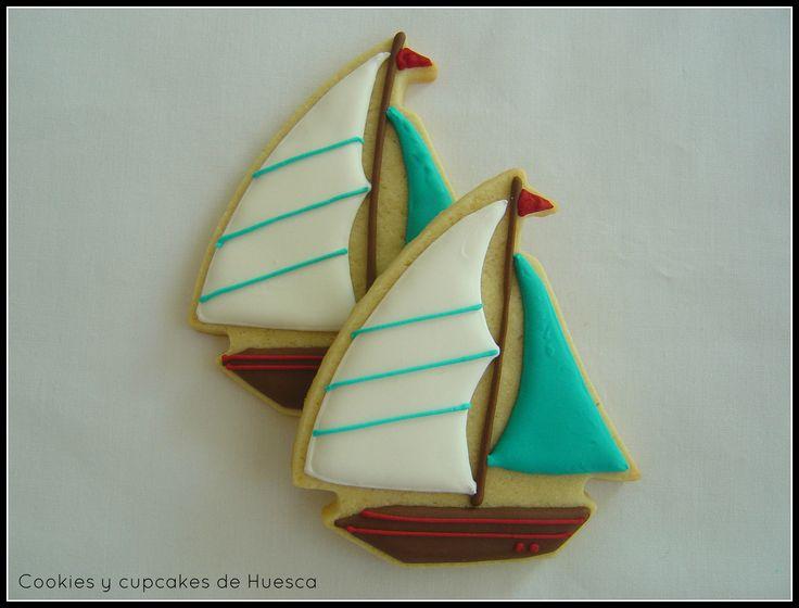 Galleta barco velero
