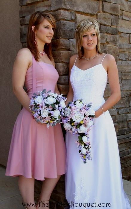 TheBridesBouquet.com - Wildflower Nosegay - Silk Bridal Wedding Bouquet, $44.99 (http://www.thebridesbouquet.com/wildflower-nosegay-silk-bridal-wedding-bouquet/)