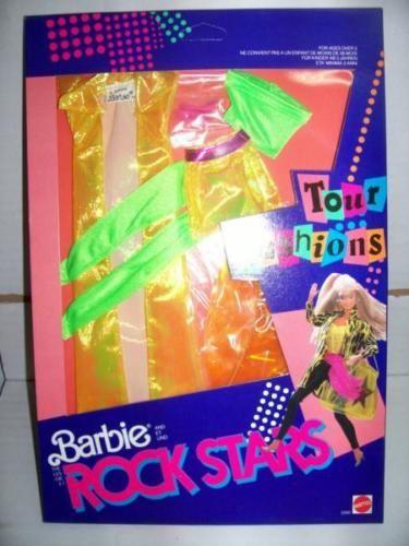 Mattel-Barbie-ROCKERS-ROCK-STARS-Abito-3390-MIB-1986