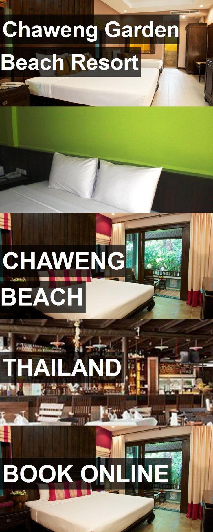 Les 25 meilleures idées de la catégorie Chaweng garden beach ...