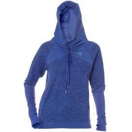 Asics Ayami shirt lange mouw hoodie paars stippen dames € 24,95