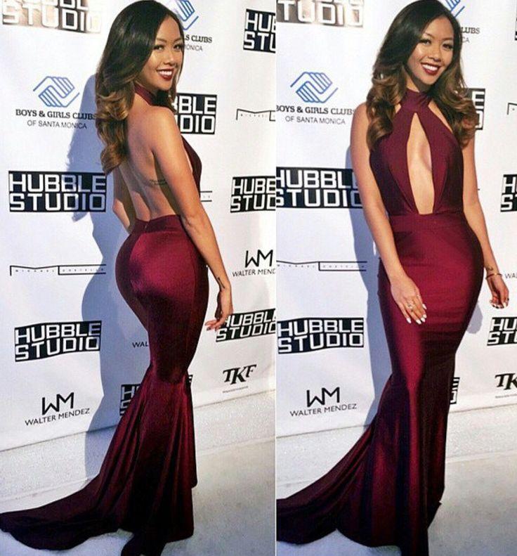 Long Elegant Dresses Bodycon