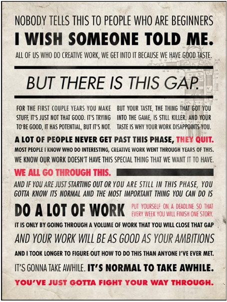 Ira Glass: The Gap, Words Of Wisdom, Remember This, Quote, I Wish, The Games, So True, Ira Glasses, Thegap