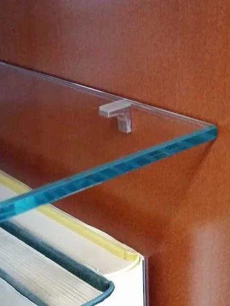 Etagère en verre sur mesure