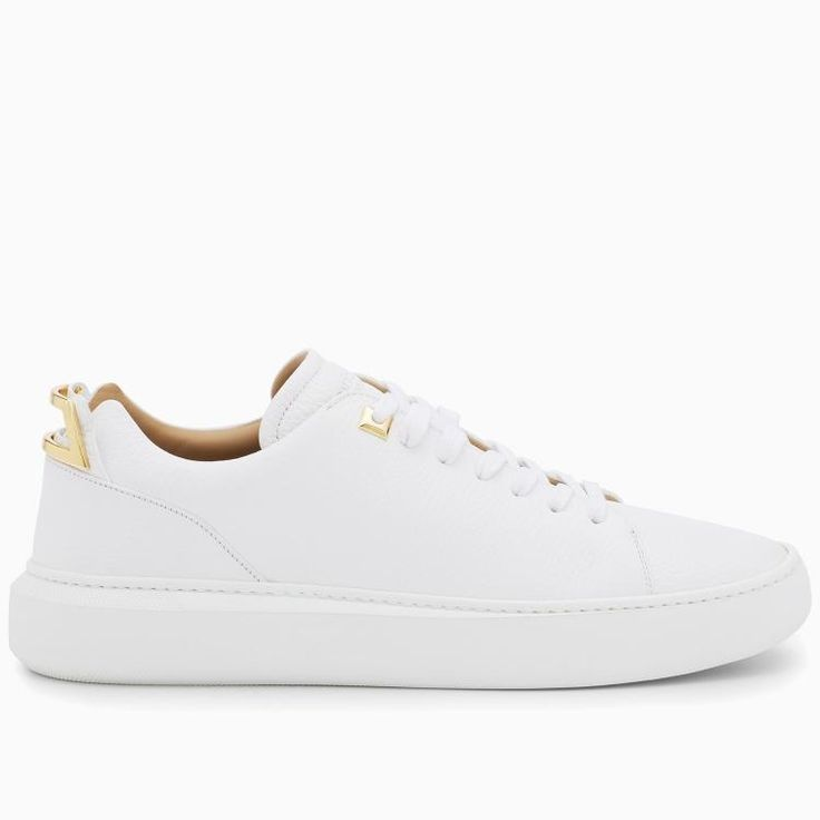 Buscemi Men's 50MM Uno Low White Sneakers #men #fashion #blackfriday #sneakers #shoes #buscemi #lifestyle