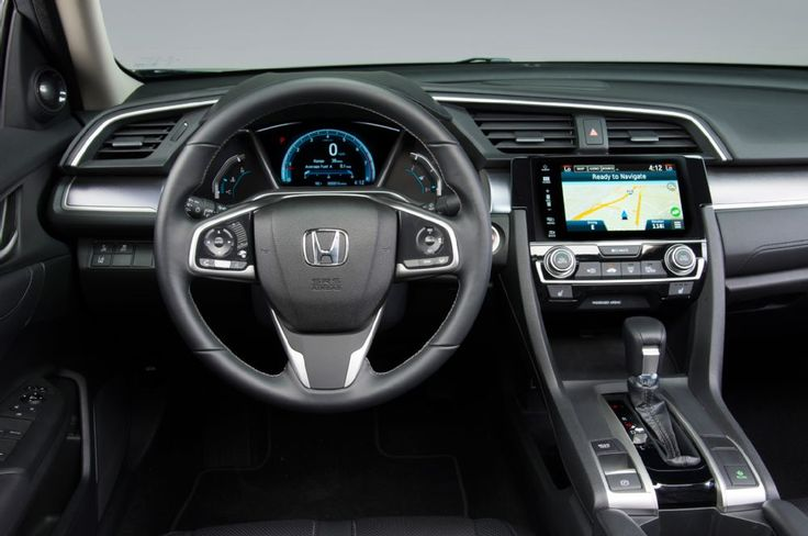 2016 Honda Civic sedan cockpit